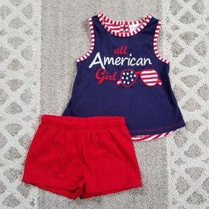 Emily Rose All American Girl Shorts Set